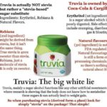Truvia is an insecticide!