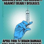 Vaccination causes mental disorders